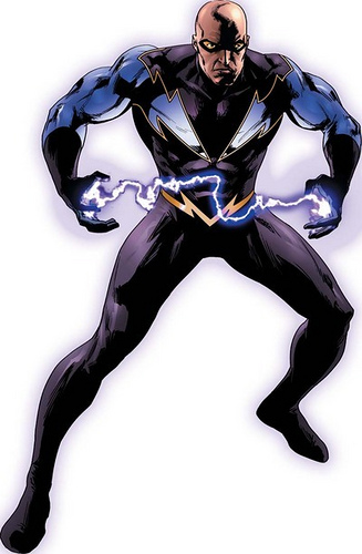 Black Lightning, the main character of The C.W.'s new show.  Photo courtesy of Flickr via Creative Commons
