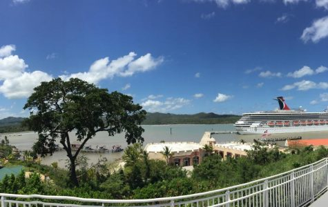 The Carnival Conquest docked in Amber Cove, Dominican Republic (Photo courtesy of Miranda Coolican)