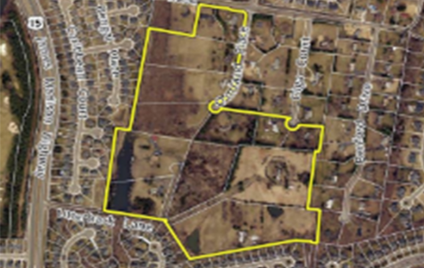 Area in which housing development is centered.