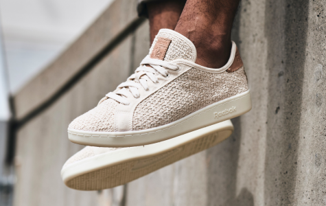 Reebok's eco-friendly shoe derived from organic cotton and corn called the NPC UK Cotton + Corn. Photo Courtesy of Engadget via Creative Commons.