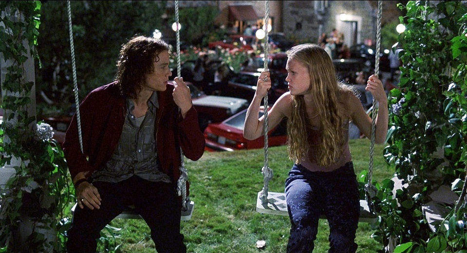 Climactic scene of 10 Things I Hate About You. Photo courtesy of Plugged In.