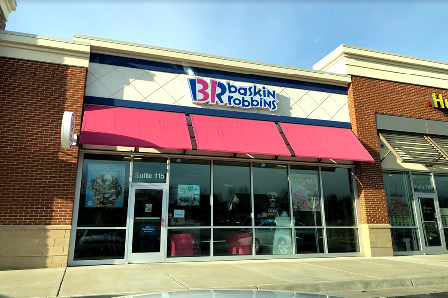 Baskin Robbins in Gainesville, VA.