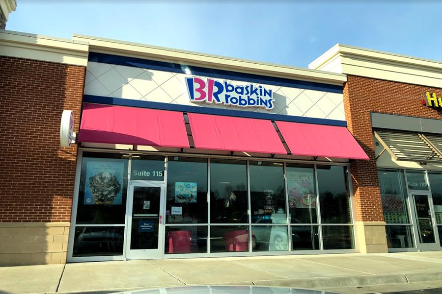 Baskin Robbins in Gainesville, VA.