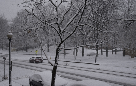 A snowy street. Photo courtesy of Flickr via Creative Commons.