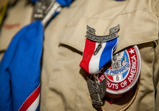 Scouts BSA uniform. Courtesy of Spangdahlem via Creative Commons.