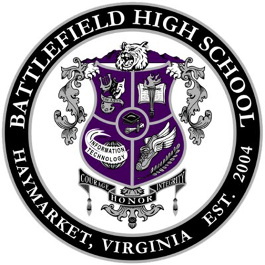 Battlefield High School logo. Photo courtesy Battlefield High School.
