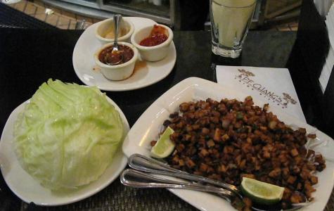Vegan wraps at P.F Changs Photo Courtesy of Rain Rabbit via Creative Commons