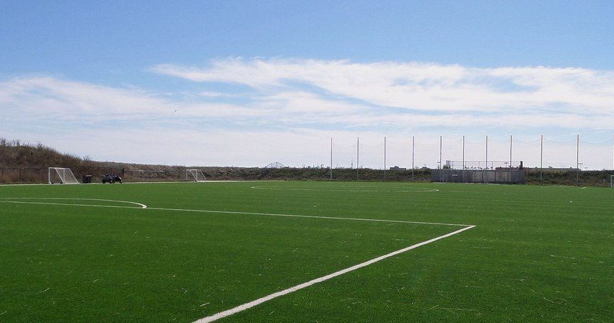 Example of a common turf field. Photo courtesy of Stratablog via Creative Commons.