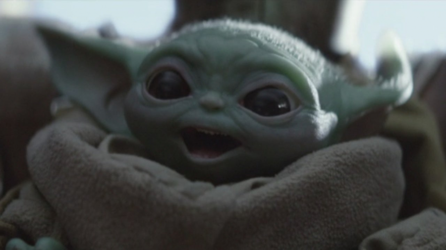 """Baby Yoda"" from episode 8 of  The Mandalorian. Photo courtesy of Comicbook.com."
