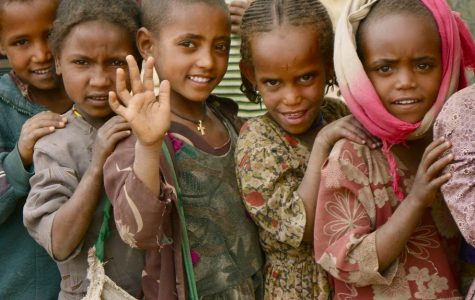 Children in the Tigray region of Northern Ethiopia whose village was helped by Charity: Water, Image via Flickr courtesy of Google Images, labeled for reuse with modification.
